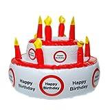 Aufblasbare Geburtstagstorte HAPPY BIRTHDAY