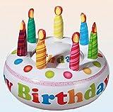 Out of the blue 91/4137 - Aufblasbare Torte, Happy Birthday, D:, Circa 27 cm