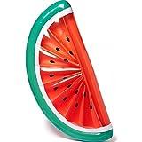 Rancross Aufblasbare Wassermelone Luftmatratze Sonnenbad auf Wasser für Sommer Wasser Party