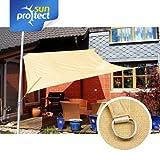 sunprotect Sonnensegel Sonnenschutz, wasserdurchlässig