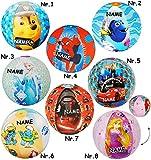 Unbekannt Wasserball / Strandball / Ball aufblasbar -  Paw Patrol  - incl. Name - Ø 42 cm - Wasserball - aufblasbarer groß / Beachball - Spielball - Kinder Badespielz..