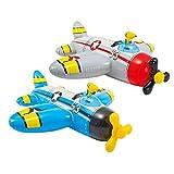 Intex Water Gun Plane Ride-On - Aufblasbarer Wasserpistolenflugzeug - Ab 3 Jahre (sortiert)