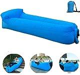 OXENDURE Aufblasbare Liege Luftsofa Hängematte - tragbar, wasserdicht Design-ideale Couch für Hinterhof Lakeside Beach Reisen Camping Picknicks & Musikfestivals