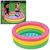 Intex Sunset Glow Baby Pool - Kinder Aufstellpool - Planschbecken - Ø 86 x 25 cm - Für 1-3 Jahre
