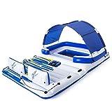 Bestway 43105 Hydro-Force, Badeinsel mit viel Platz für bis zu 6 Personen, 373x264x73 cm, Color