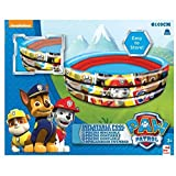 PAW PATROL 3-Ring Pool / Aufblaspool / Planschbecken mit Chase, Rubble und Marshall ca. 100 cm