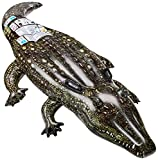 Intex Aufblasbares Tier, fotorealistisch, 2Griffe Krokodil - bunt