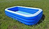 SportFit 600-28 XXL Familienpool Pool Riesenpool Kinder Aufstellpool - Planschbecken - Family Pool - 305x180x56 cm