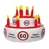 MIK funshopping Aufblasbare Geburtstagstorte 60