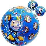 alles-meine.de GmbH Strandball / Ball - aufblasbar - Paw Patrol - Hunde - Ø 40 cm - Wasserball - aufblasbarer großer Ball / Beachball - Kinder - Baby - Spielball Aufblasball - gr..